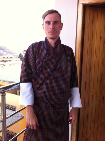 GREETINGS FROM BHUTAN – OUR STUDENT SENDS HIS REGARDS!