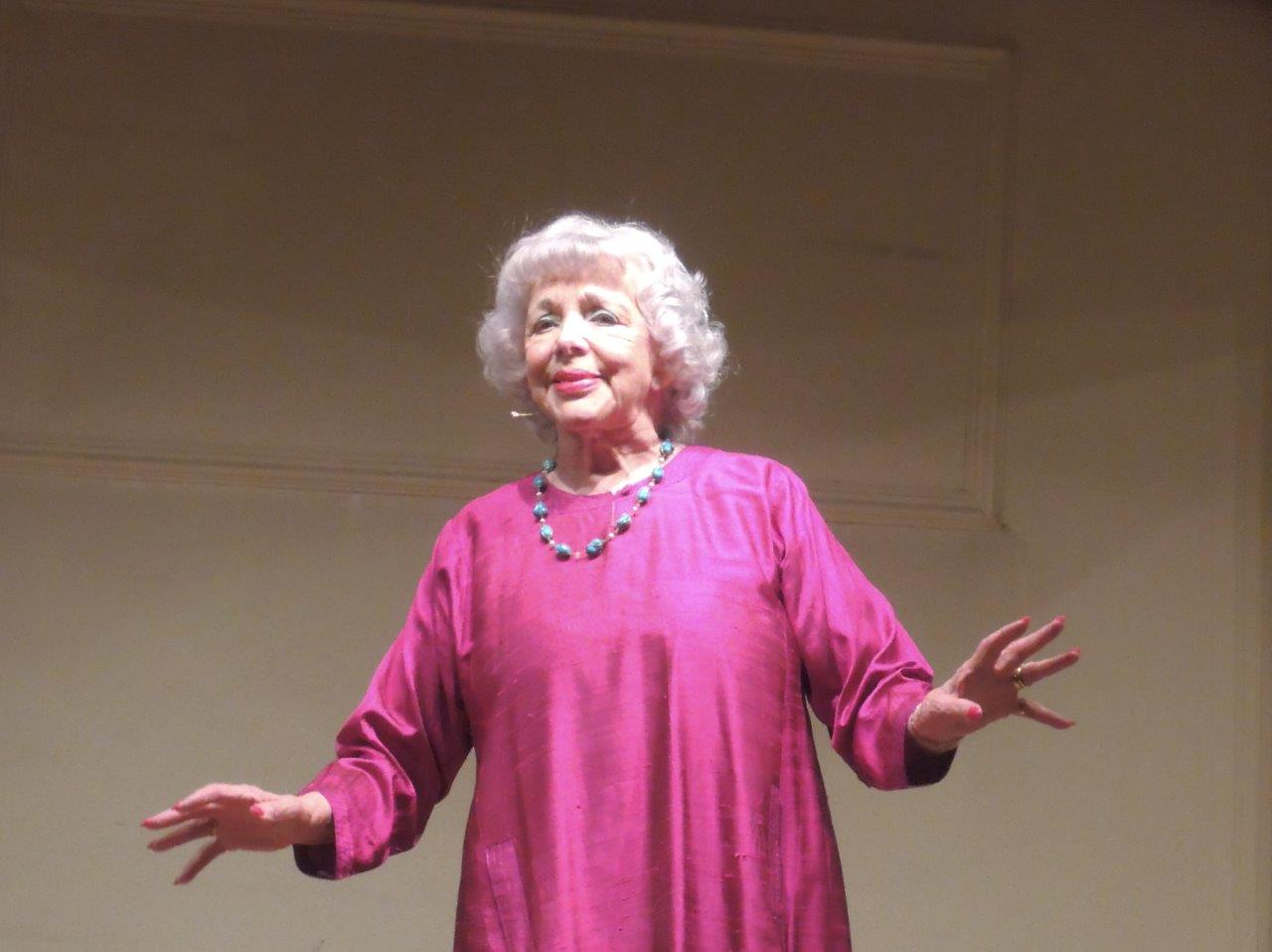 A review of Thelma Ruby's one-woman show as a gift to the Spiro Ark