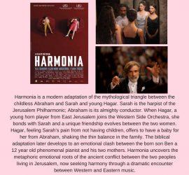 Film screening and discussion: Harmonia