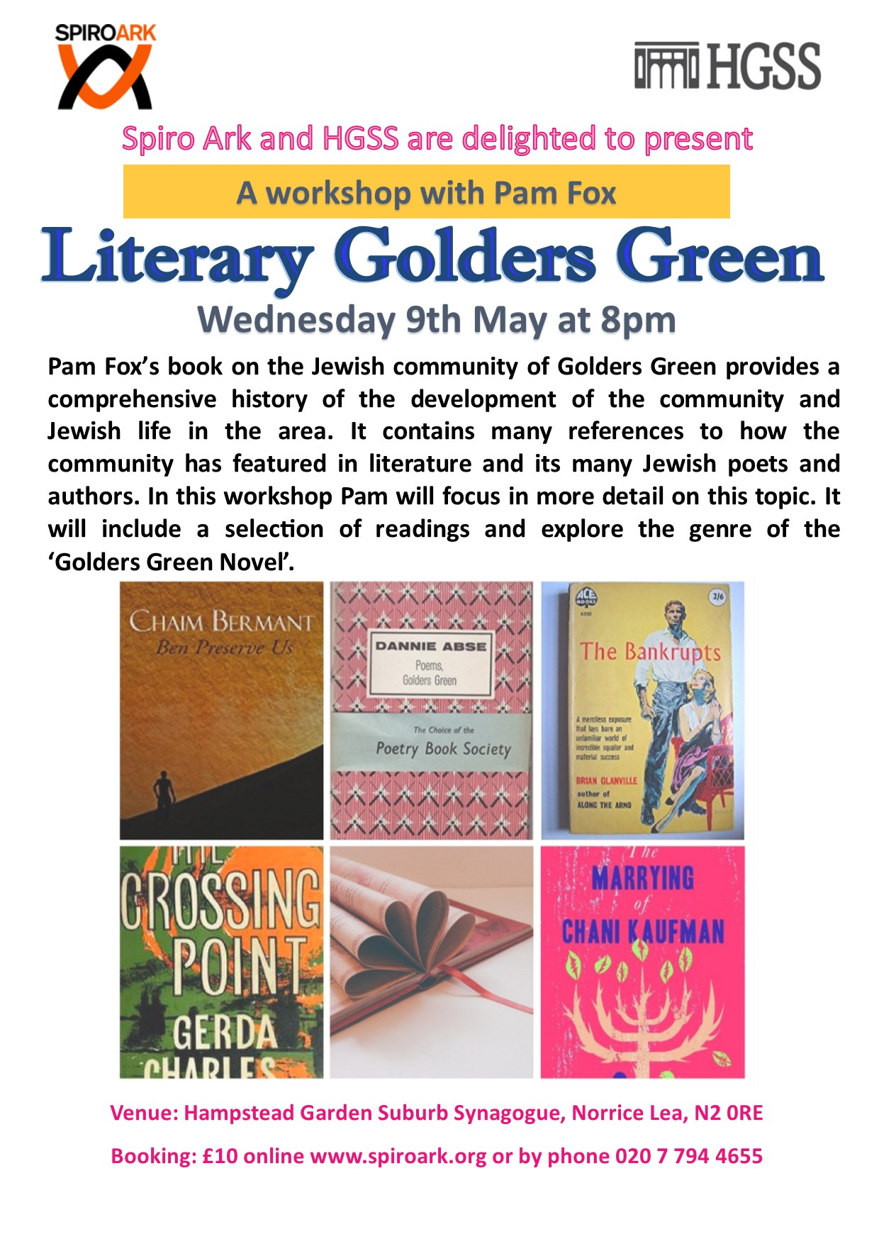 Literary Golders Green