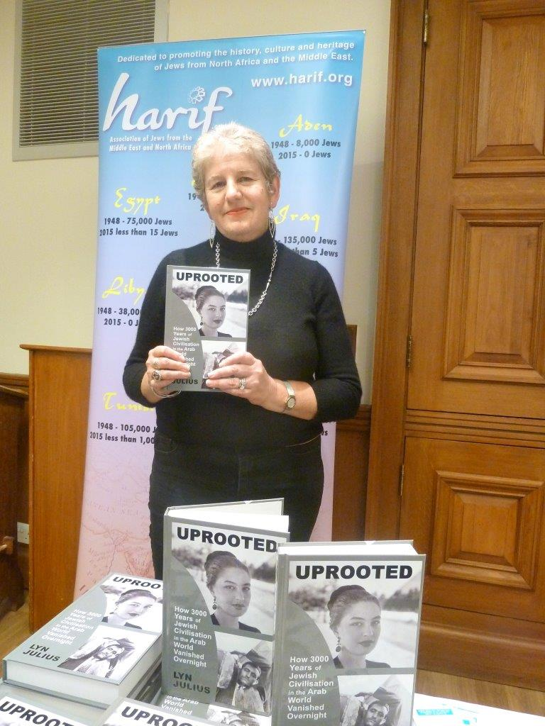Book Launch and more with Lyn Julius from Harif