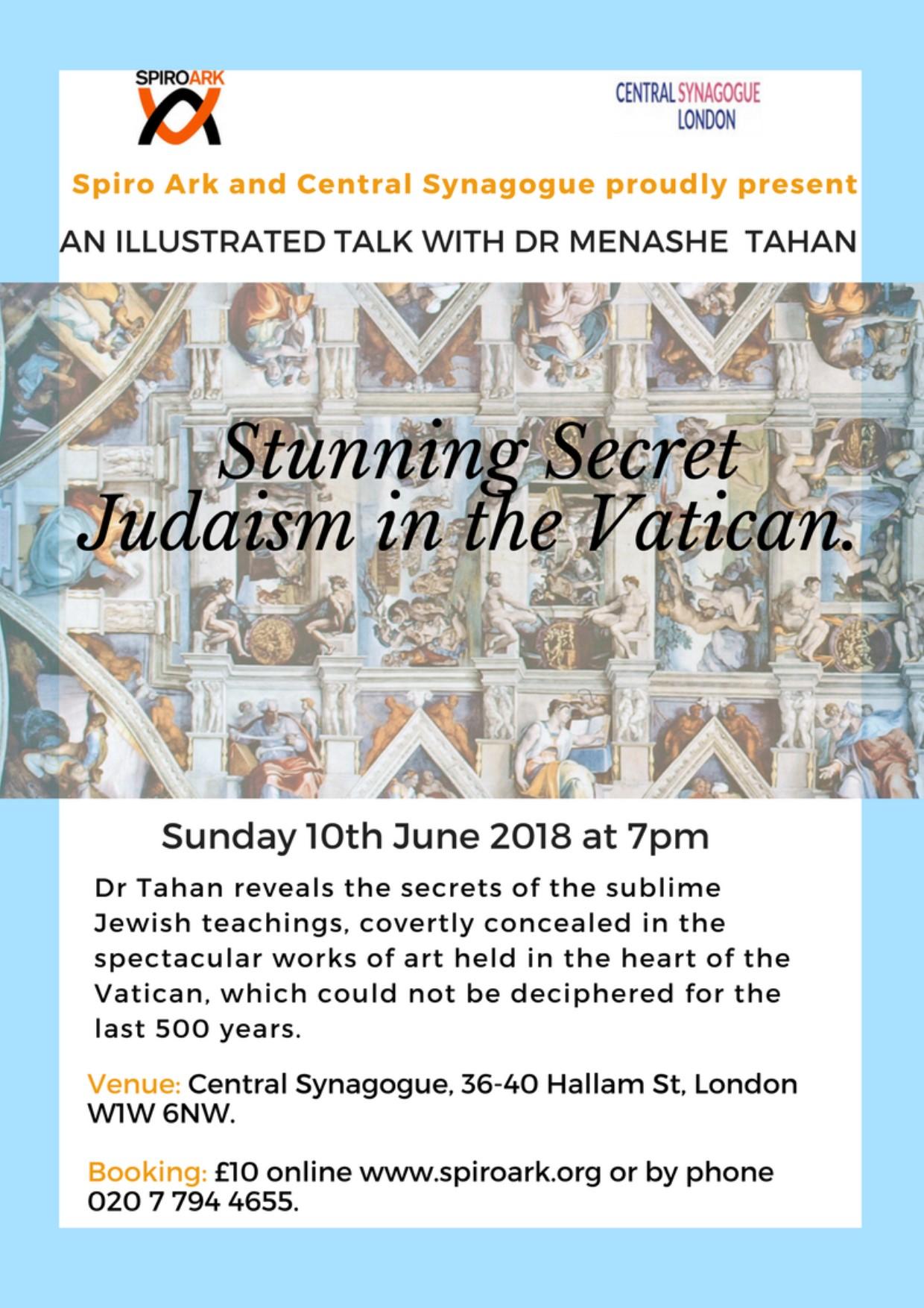 STUNNING SECRET JUDAISM IN THE VATICAN