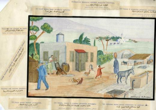 Malaria in Palestine