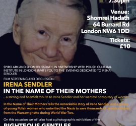 Irena Sendler – In The Name of Their Mothers