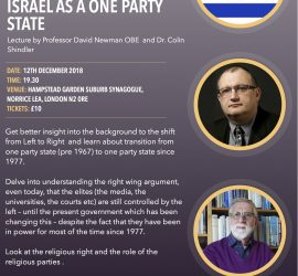 From Left to Right – Israel As A One Party State