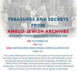 Treasures and Secrets from Anglo-Jewish Archives