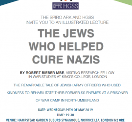 THE JEWS WHO HELPED CURE NAZIS