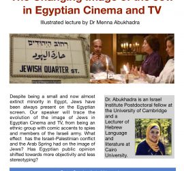 The Changing Image of the Jew in Egyptian Cinema and TV