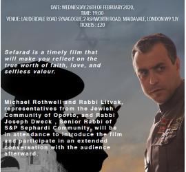 Sefarad – Film Screening